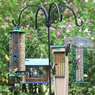 Adjustable Quad Bird Feeder Hanger