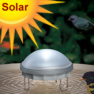 Solar Powered Bird Baths